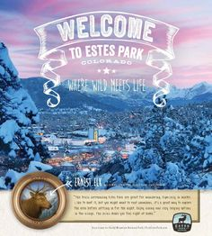 A guide to #Holiday events, lodging specials, outdoor adventures and more in the majestic mountain village of Estes Park, #Colorado. #Christmas