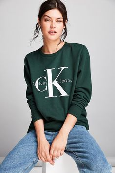 Calvin Klein Sweatshirt on ShopStyle.