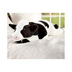 Cow Body Pillow For Kids Gift Big Stuffed Animal Plush Toy Giant Print Bedding