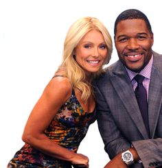 Live With Kelly and Michael.  Great duo who I DVR most every day to watch later.