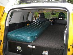 Project Toyota FJ Cruiser - Sleeping Platform, Cargo Storage Box