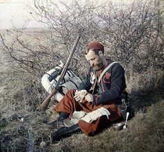 [#14/18] Zouave, autochrome, 1914 © DR.