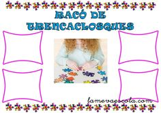 RACÓ DE TRENCACLOSQUES Valencia, Ideas Para, Classroom, Poster, School, Home, Classroom Setup, Infant Activities, Stall Signs