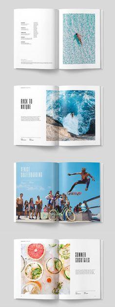 Harvest magazine - My Design Ideas 2019 Food Magazine Layout, Magazine Layout Design, Book Design Layout, Design Poster, Print Layout, Page Design, Graphic Design, Ideas Magazine, Design Design