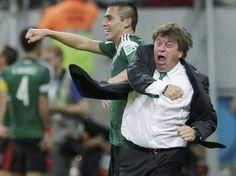 《世足風雲人物》超有戲墨西哥教練 不看球員看他表演就好
