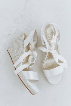 Ivory bridal espadrille wedges perfect for beach weddings, beach brides and outdoor weddings. Summer Espadrilles are the perfect honeymoon shoe or bridal shoe for the laid-back bride. Shop our bridal wedges and beach espadrille shoes today. Low Heels, Wedge Heels, Beach Wedding Shoes, Wedge Wedding Shoes, Bohemian Bride, Bohemian Beach, Wedding Dress Trends, Wedding Dresses, Flip Flops