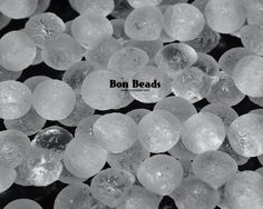 9x8mm Crystal Etched Wide Cap Mushroom Buttons @ www.bonbeads.com