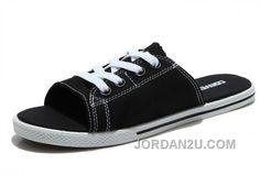 2287ef5756a468 Black Converse Cutaway EVO Summer Chuck Taylor All Star Slippers  537044C   -  56.00