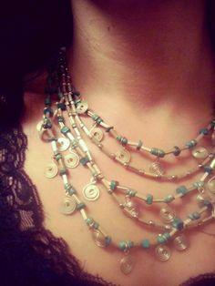 #Collana in stile #Azteco - #Frida #Creazioni