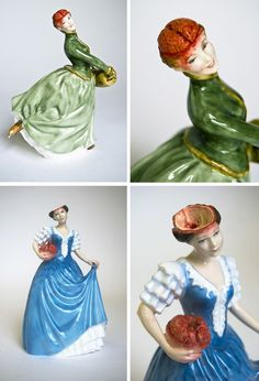A strange and creepy take on those dainty ceramic figurines by Jessica Harrison. Certainly not something you'd see in your grandma's house. :)
