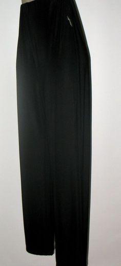CDW Creative DesignWorks - Jersey Knit Pull on Pants - PM - NWT - Black #CDWCREATIVEDESIGNWORKS #JERSEYKNITPANT