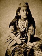 Princess Rani Lakshmi Bai (the warrior princess) married at the age of 12 . History Of India, Asian History, History Photos, Women In History, History Facts, Rare Pictures, Historical Pictures, Rare Photos, Old Photos