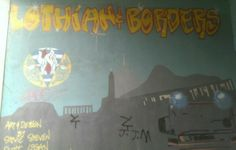 Mural at Scottish Fire & Rescue Service on McDonald Road