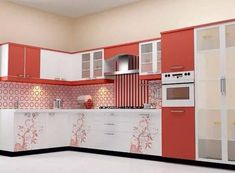 Elegant Kitchen Cabinets With a Beautiful Simplicity - Top Inspirations Kitchen Cupboard Designs, Kitchen Tiles Design, Modern Kitchen Design, Interior Design Kitchen, Kitchen Modular, Modern Kitchen Cabinets, Kitchen Wood, Beautiful Kitchen Designs, Best Kitchen Designs