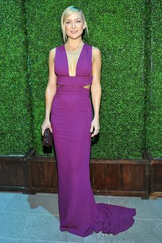 11.08.14  Kate Hudson, in Stella McCartney dress and Tiffany & Co jewelry, at Baby2Baby Gala in CA
