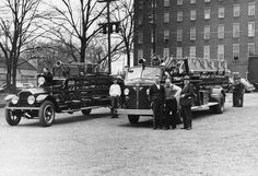 Canandaigua Fire Department- 1927 ladder truck and 1949 Aerial Truck #setcom