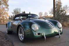 Porsche 356 Wide Body | Mean Green Super Widebody Machine | SpeedsterOwners.com - 356 ...