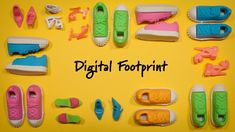 A digital footprint is the trail of information we leave behind us when we do anything online - when we share, search, join groups or buy things. Digital Technology, Educational Technology, Digital Citizenship Lessons, 7th Grade Reading, Cyber Safety, Digital Footprint, Information Literacy, Internet Safety, Digital Literacy
