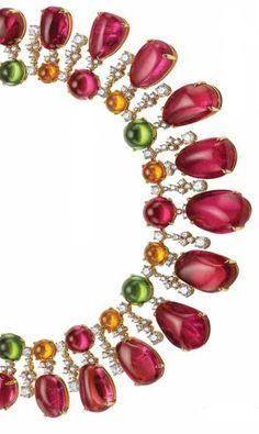 Rosamaria G Frangini | High Colorful Jewellery | TJS | Bulgari Diva