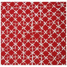 Red and White Quilt Circa 1885