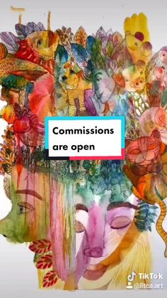 Litca(@litca.art) on TikTok: Commissions are open🖼️ ⚡🙆💕#art #artgallery #commisionsopen #artshop #10kartist #wallart #venezuelanartist #cuadros Art Gallery, Wall Art, Artist, Artwork, Painting, Design, Art Museum, Work Of Art, Auguste Rodin Artwork