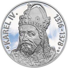 KAREL IV., KRÁL A CÍSAŘ - 700. VÝROČÍ NAROZENÍ STŘÍBRO