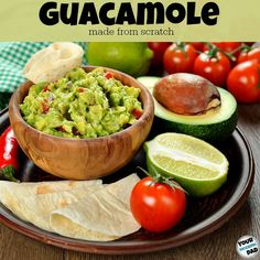 Summer favorite for guacamole made from scratch to serve with chips at a party or when we are having dinner at a friend's house. Family Meals, Kids Meals, Easy Meals, High Protein Recipes, Protein Foods, Good Food, Yummy Food, Yummy Recipes, Recipies