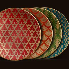 Lobjet | L'OBJET | Products | Fine Dinnerware Online | 1 | FORTUNY | CANAPE PLATES