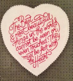 Machine embroidery design by OTKETO  https://www.etsy.com/listing/174397889/machine-embroidery-file-valentines-heart