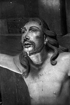 Aleijadinho. Cristo da Crucificação, passo da Crucificação, santuário do Senhor Bom Jesus de Matosinhos, 1945. Congonhas do Campo, MG