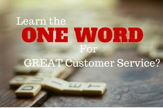 I asked a few customer service leaders to describe a great customer experience in one word. Customer Experience, Customer Service, Sales People, One Word, Great Words, Public Relations, Author, Learning, Sayings