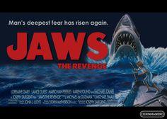 """O mês de julho traz muito suspense em alto-mar com a """"Maratona Tubarão"""". No dia 4, a partir das 9h50, o Megapix exibe em sequência os quatro filmes da franquia: Tubarão,Tubarão 2, Tubarão 3 e Tubarão 4 - A Vingança."""
