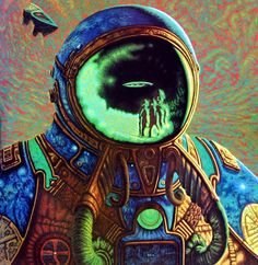 sciencefictiongallery:  Greg Scott - Extra-Terrestrial 1982.