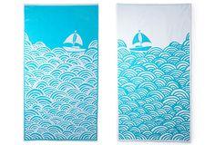 Luzelle van der Westhuizen Boat, towels