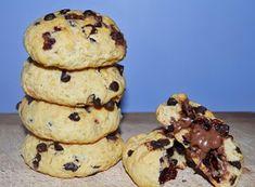 ΜΑΓΕΙΡΙΚΗ ΚΑΙ ΣΥΝΤΑΓΕΣ 2: Cookies με γέμιση μερέντα!!!!! The Kitchen Food Network, Food Network Recipes, Cookies, Muffin, Breakfast, Desserts, Crack Crackers, Recipes, Muffins