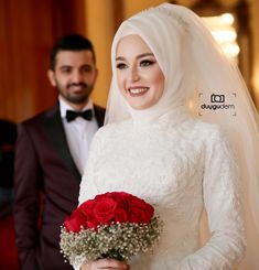 plus size gothic wedding dress for sale Hijabi Wedding, Wedding Hijab Styles, Muslimah Wedding Dress, Muslim Wedding Dresses, Muslim Brides, Wedding Dress Sleeves, Wedding Poses, Muslim Couples, Bridal Mehndi Dresses