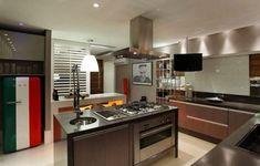 cozinha planejada e decorada em estilo contemporaneo