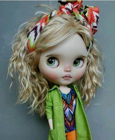 Vespa Retro, Kawaii Doll, Gothic Dolls, Little Designs, Little Doll, Hello Dolly, Pretty Dolls, Custom Dolls, Doll Face
