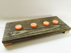 Rustic Tea Light Candle Holder Candle by DivineRusticCreation, $25.00