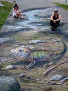 Ulla Taylor Pavement Artist