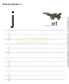 Small Letters J - esl-efl Worksheets - kindergarten Worksheets