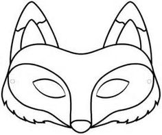 Free Printable- Fox Mask :: Fox with Glasses
