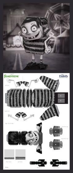 Edgar 3D Papercraft