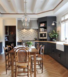 Dark & delicious | San Francisco Decorator Showhouse Kitchen
