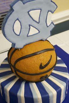 UNC Groomsman cake