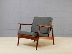 Moreddi Danish Teak Lounge Chair