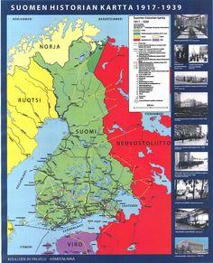 Suomen historia 1917 - 1939.