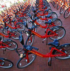 The launch of Capital Bikeshare, September 20, 2010