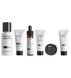 Penetrate deep to thoroughly cleanse pores and knock out pimples and blemishes. Prevent future breakouts and keep your skin feeling clear, healthy, and hydrated. The targeted products in this travel size kit from PCA Skin is perfect for keeping your skin looking great while you enjoy your travels.