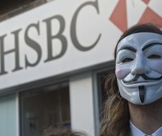 Anonymous took down HSBC by DDOS attack - Hack Reports
